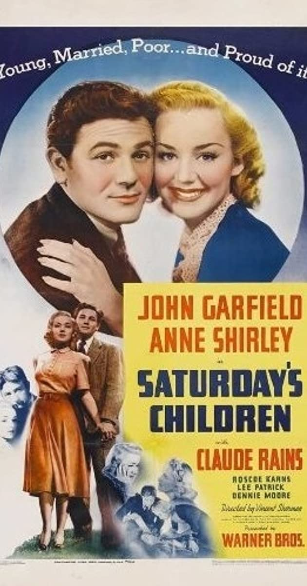 Saturday's Children (1940) - IMDb