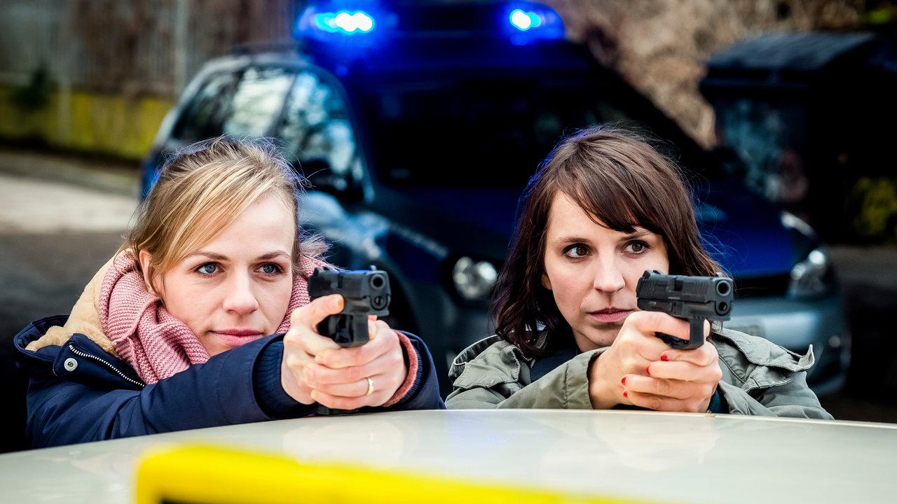 Caroline Erikson and Katrin Jaehne in Taxidriver (2021)