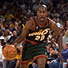 Gary Payton in 1999 Nov 2 SuperSonics vs Clippers (1999)