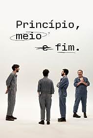 Bruno Nogueira, Nuno Markl, Filipe Melo, and Salvador Martinha in Princípio, Meio e Fim (2021)