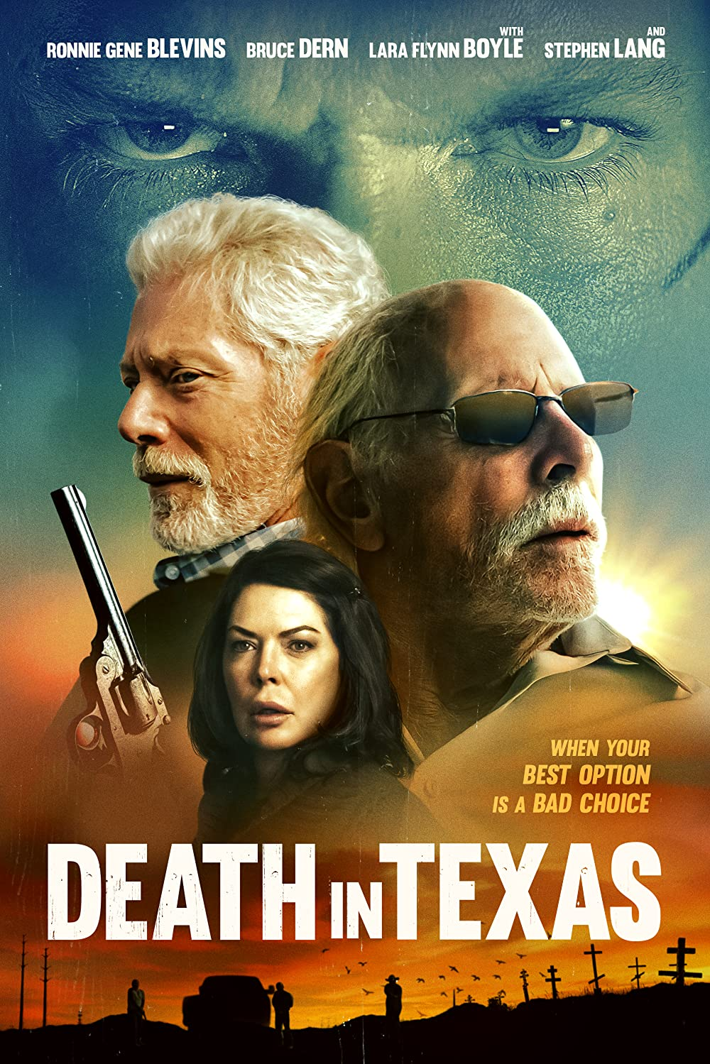 Death in Texas 2021 English 720p HDRip 800MB Download