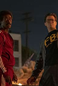 Don Cheadle and Andrew Rannells in Black Monday (2019)