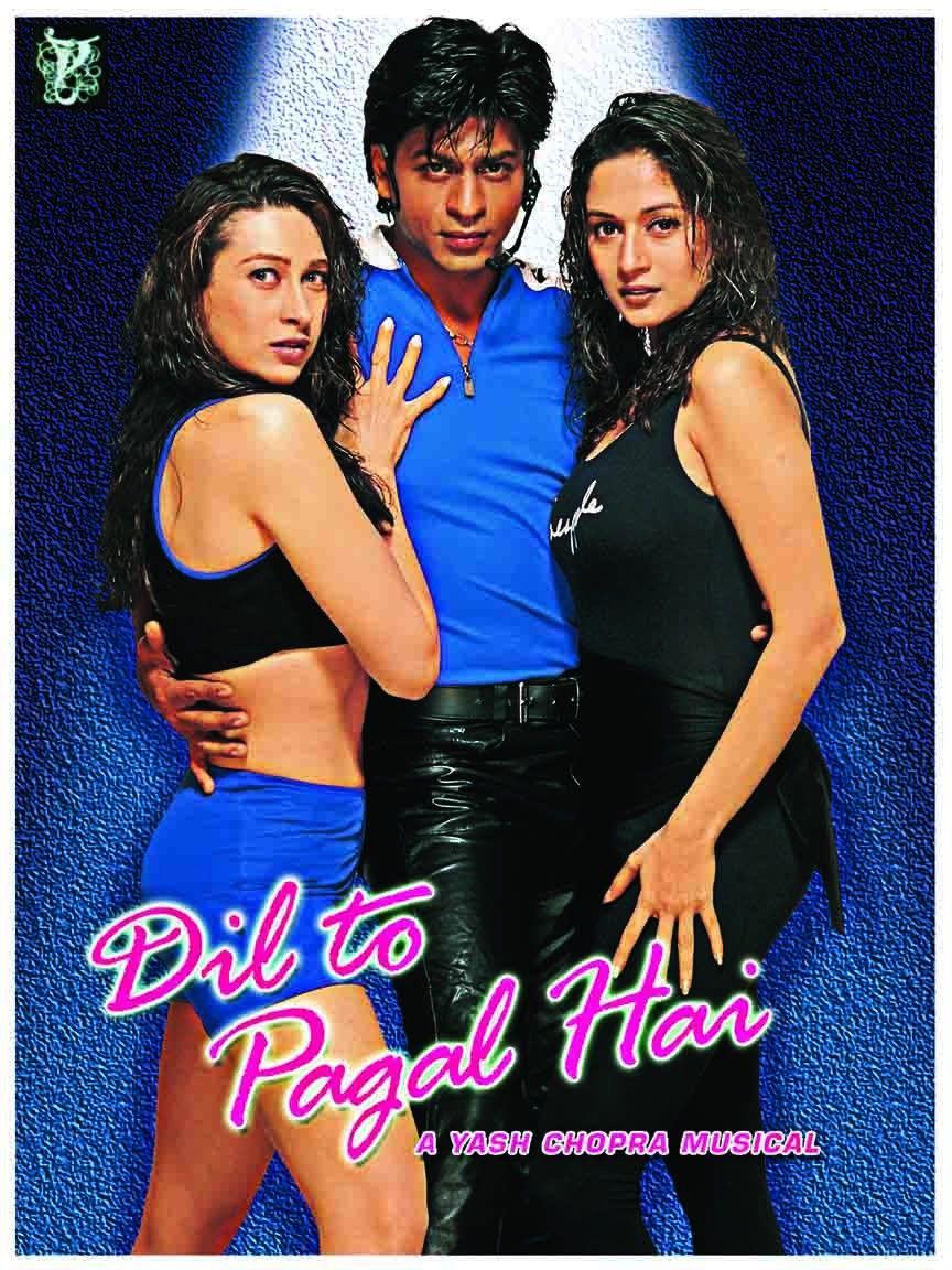Dil To Pagal Hai (1997) Hindi Movie 720p BluRay 1.5GB | 650MB Download