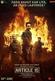 Watch Full HD Movie Article 15 (2019)