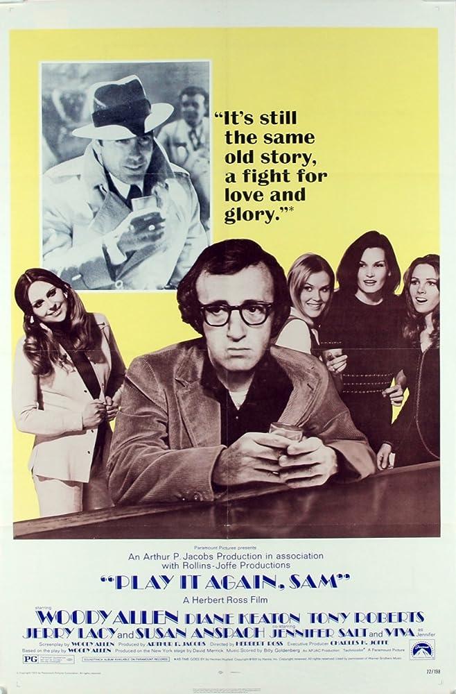 Woody Allen in Play It Again, Sam (1972)