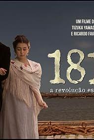 Bruno Ferrari and Klara Castanho in 1817: A revolução esquecida (2017)