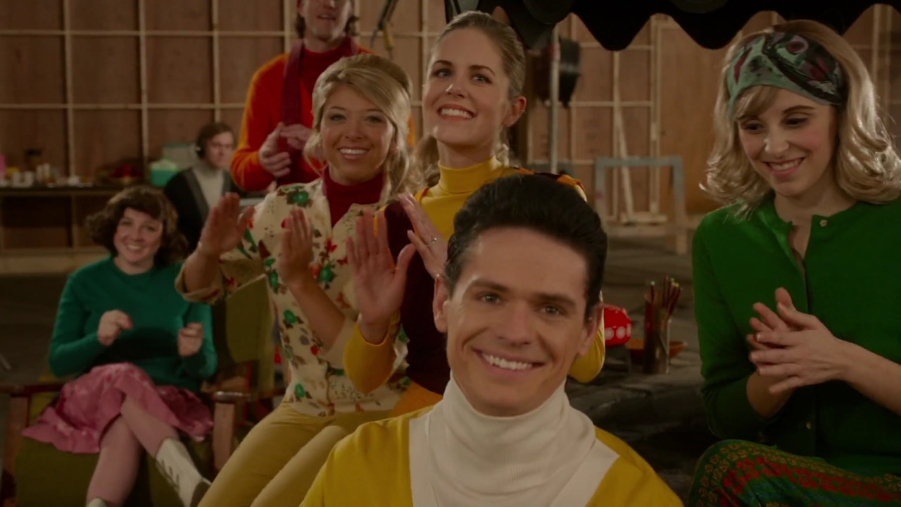 Aaron Jay Rome as Frankie Avalon in Get On Up (2015).