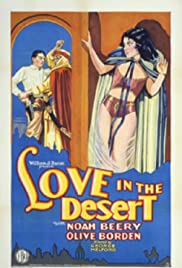 Love in the Desert Poster