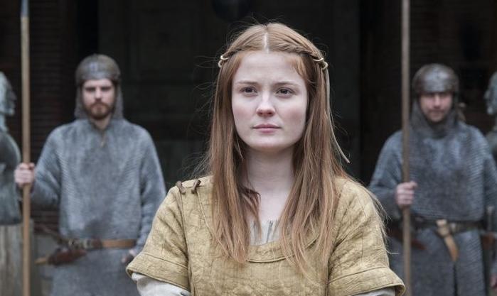 Amy Wren Mildrith The Last Kingdom- BBC