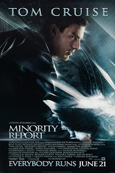 Minority Report (2002) BluRay 480p, 720p & 1080p
