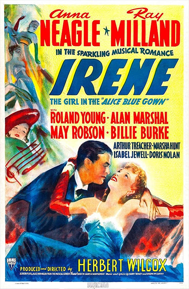 Ray Milland and Anna Neagle in Irene (1940)
