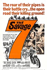 The Savage Seven (1968) starring Robert Walker Jr. on DVD on DVD