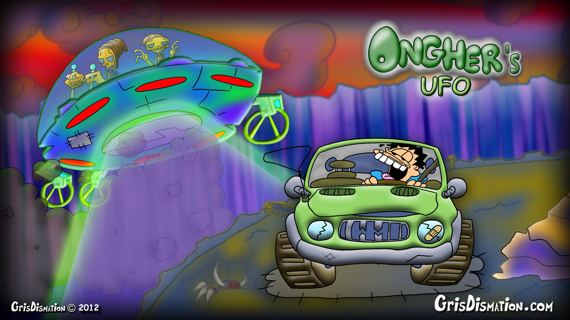 Ongher's UFO