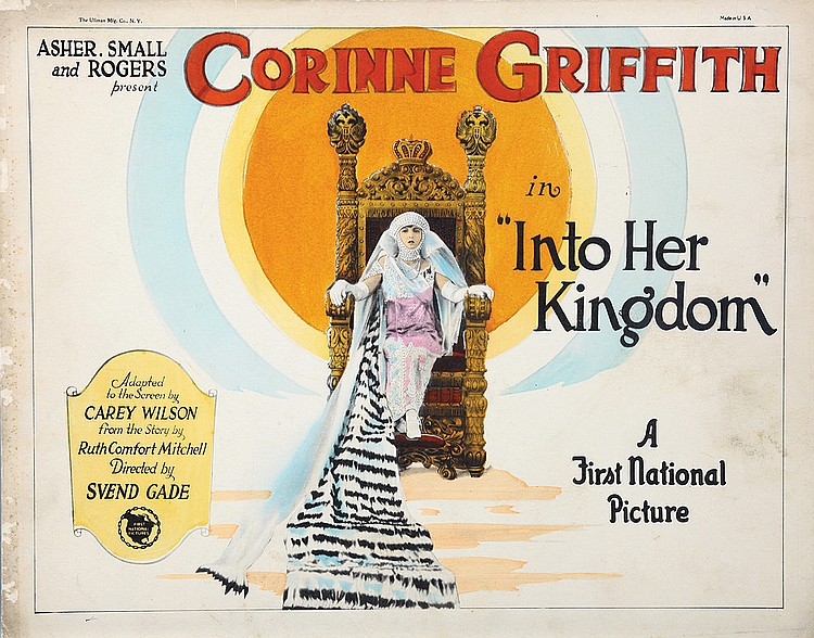 Corinne Griffith in Into Her Kingdom (1926)