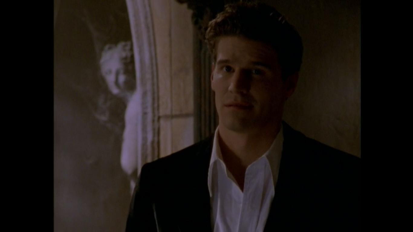 David Boreanaz in Buffy the Vampire Slayer (1996)