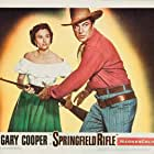 Gary Cooper and Phyllis Thaxter in Springfield Rifle (1952)