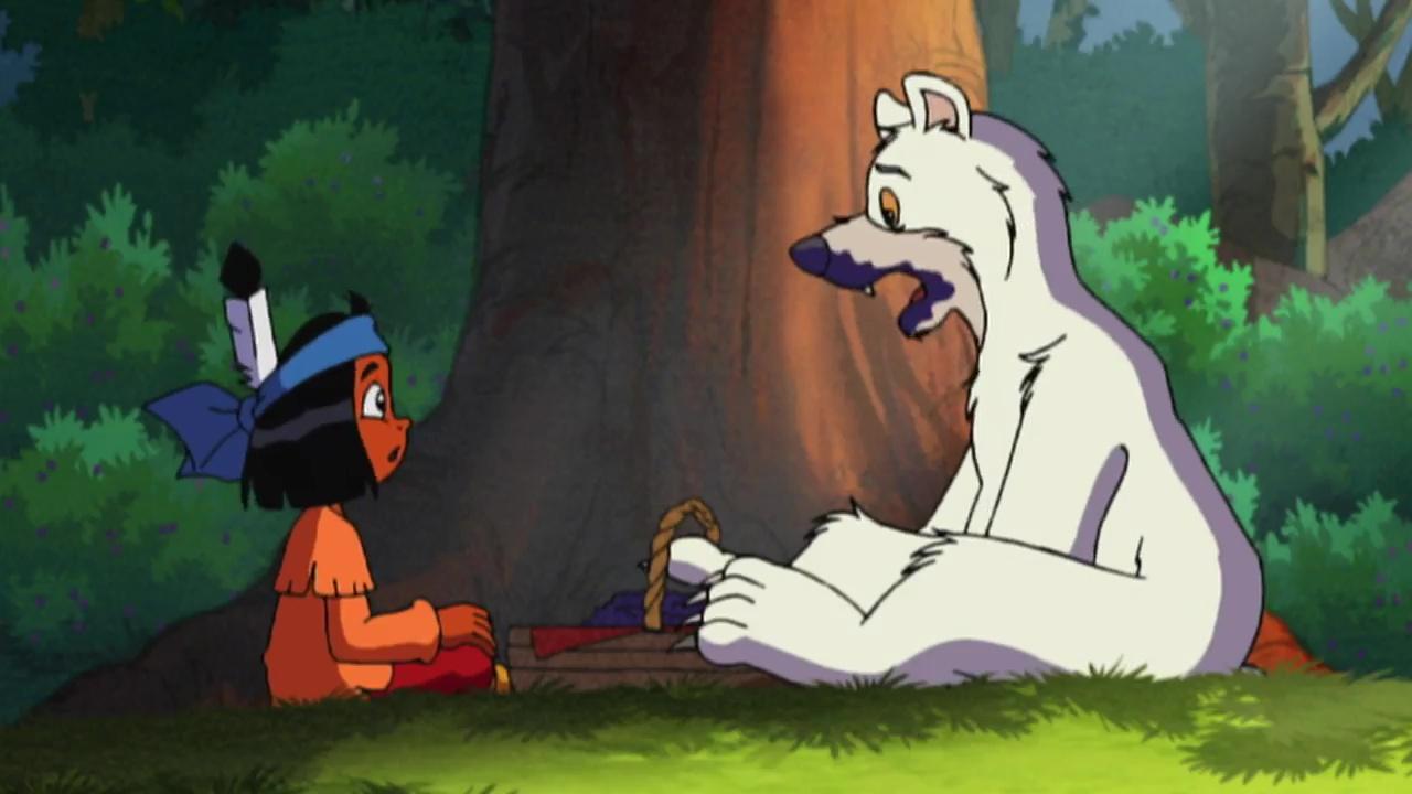 yakari and the ghost bear 2005