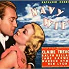 Ralph Bellamy and Claire Trevor in Navy Wife (1935)