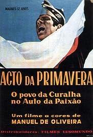 Acto da Primavera Poster