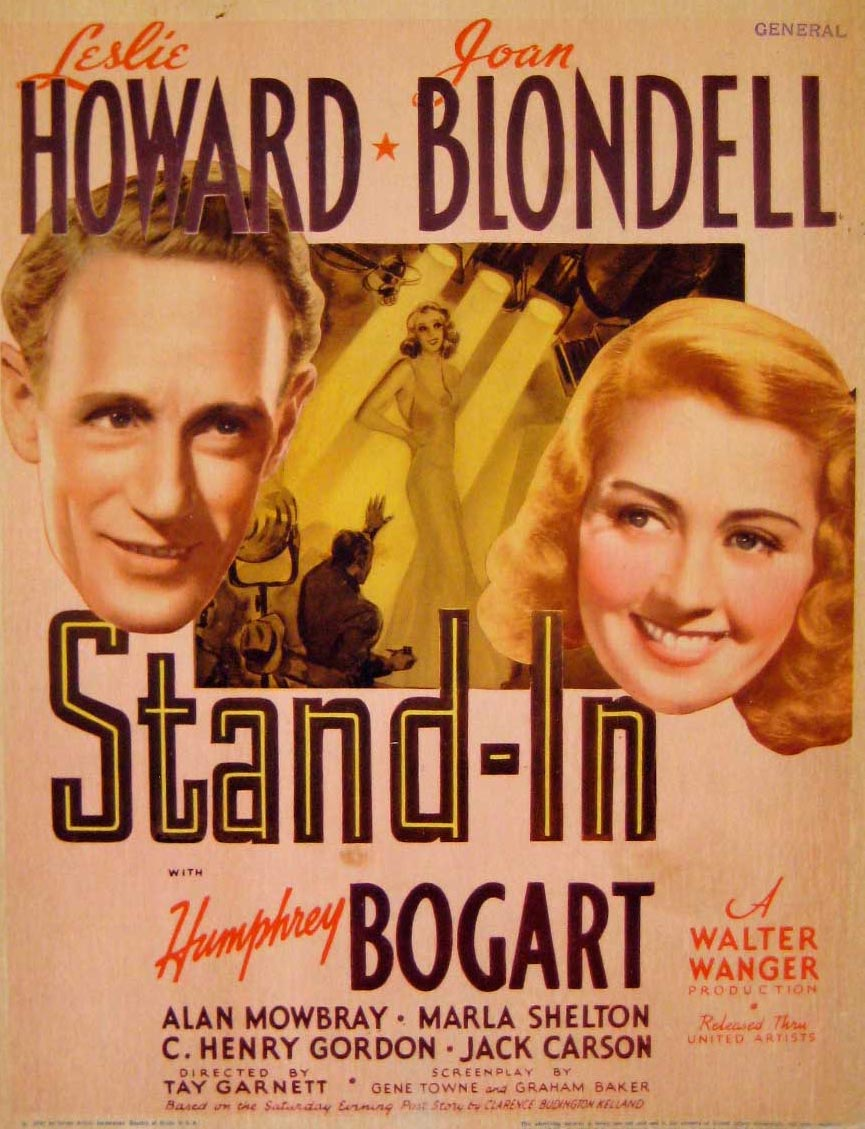 Joan Blondell and Leslie Howard in Stand-In (1937)