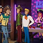 Matthew Lillard, Grey Griffin, Frank Welker, Eric Ladin, and Kate Micucci in Scooby-Doo! Shaggy's Showdown (2017)