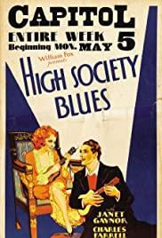High Society Blues Poster