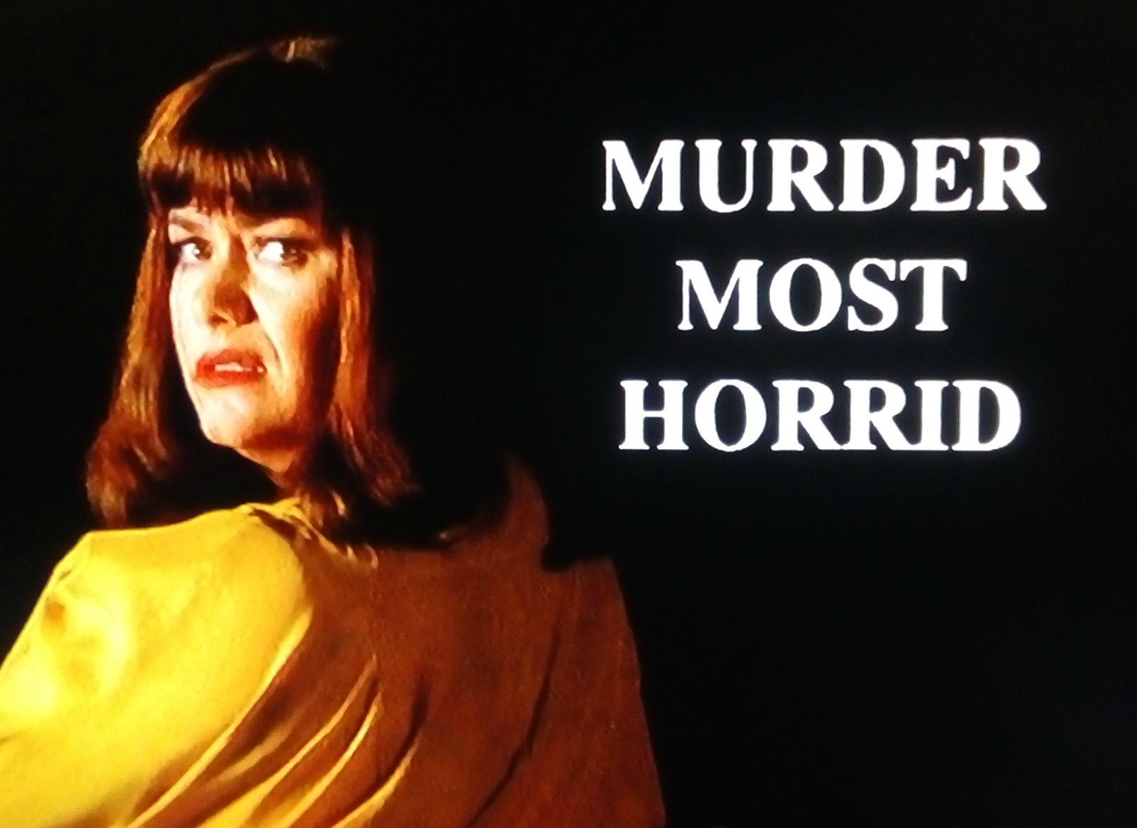 Dawn French in Murder Most Horrid (1991)