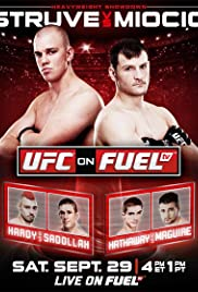 UFC on Fuel TV: Struve vs. Miocic Poster