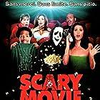 Carmen Electra, Shannon Elizabeth, Marlon Wayans, Lochlyn Munro, and Shawn Wayans in Scary Movie (2000)