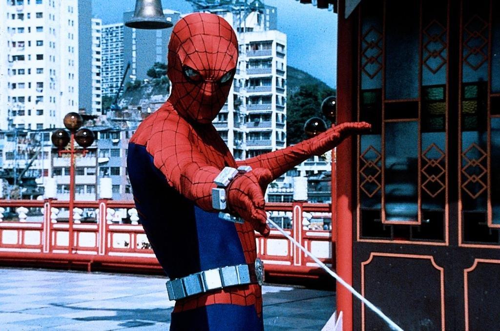 اولین تصویر مرد عنکبوتی در مقابل دوربین