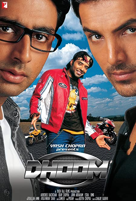 Dhoom (2004) Hindi Full Movie 480p, 720p, 1080p BluRay Download