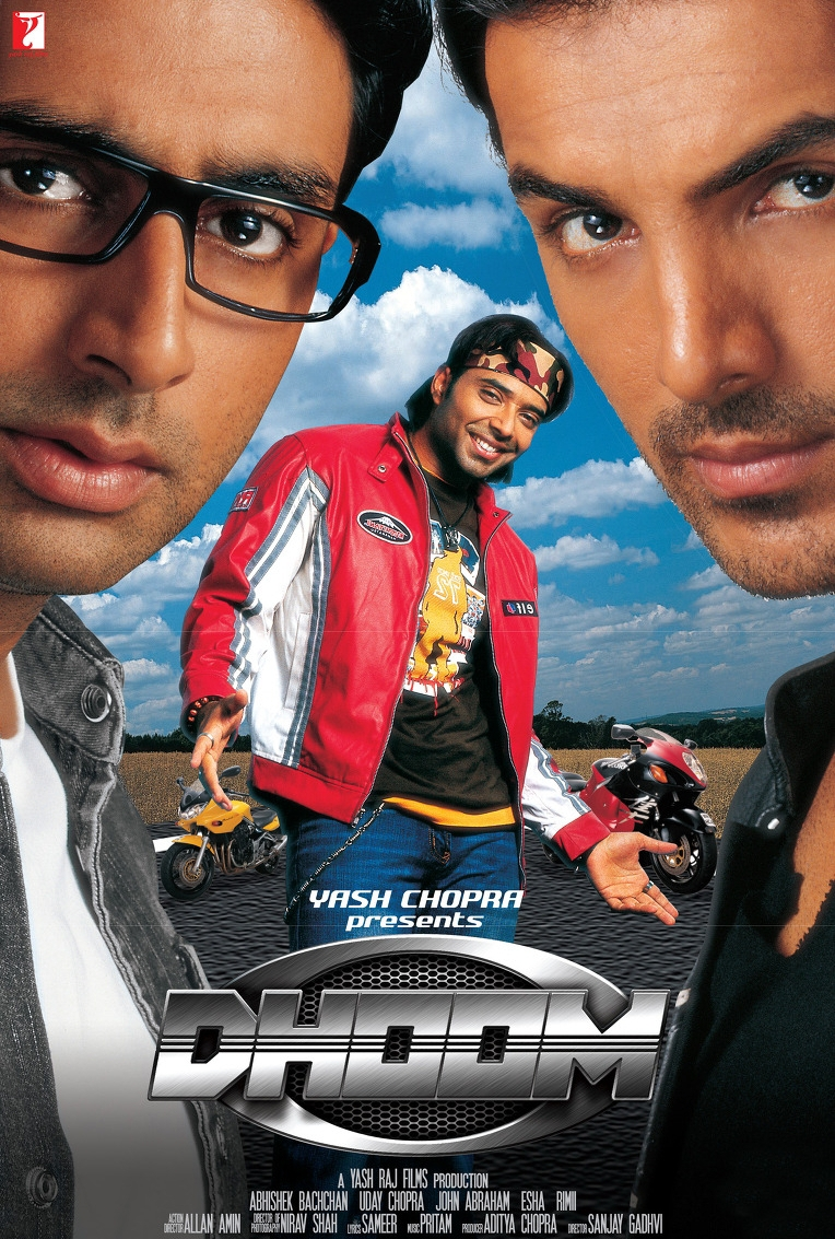 Dhoom 2004 Hindi Full Movie 480p 720p Bluray Download