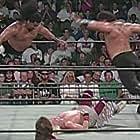 Tonga Fifita, Robert Gibson, Ricky Morton, and Sione Vailahi in WCW Monday Nitro (1995)