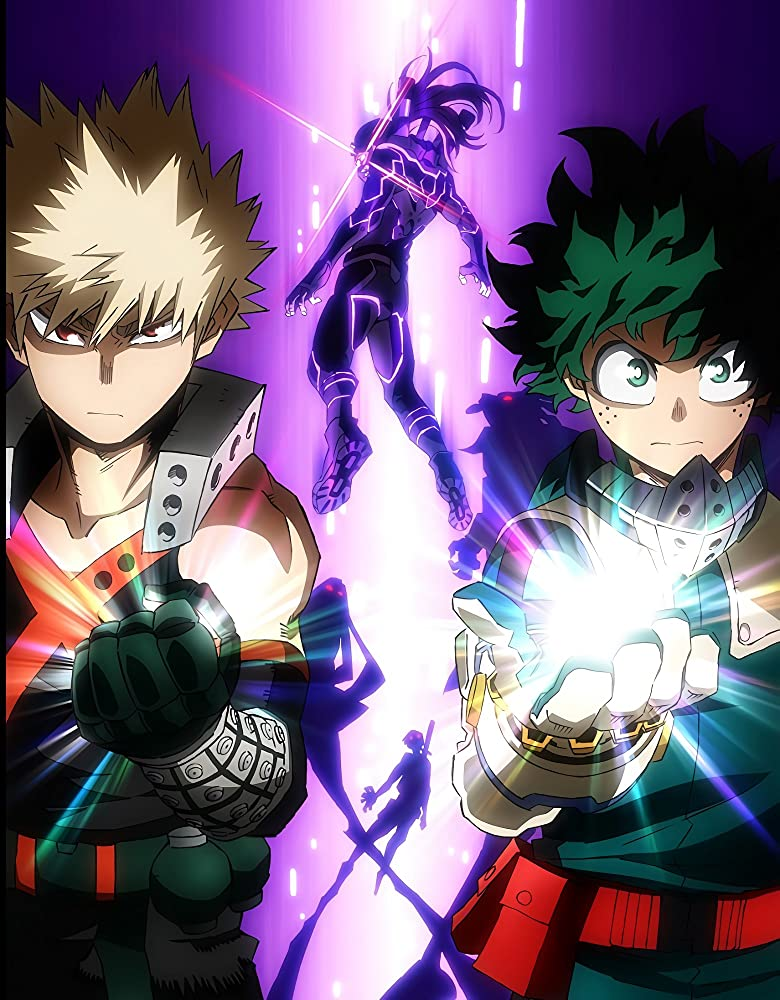 My Hero Academia: Heroes Rising (2020) Japanese 450MB Web-DL 480p ESubs Download