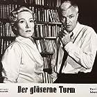 Brigitte Horney and Peter van Eyck in Der gläserne Turm (1957)