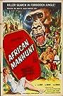 African Manhunt (1955) Poster
