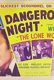 One Dangerous Night Poster