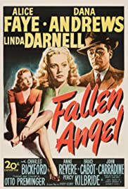 Fallen Angel (1945) Poster - Movie Forum, Cast, Reviews