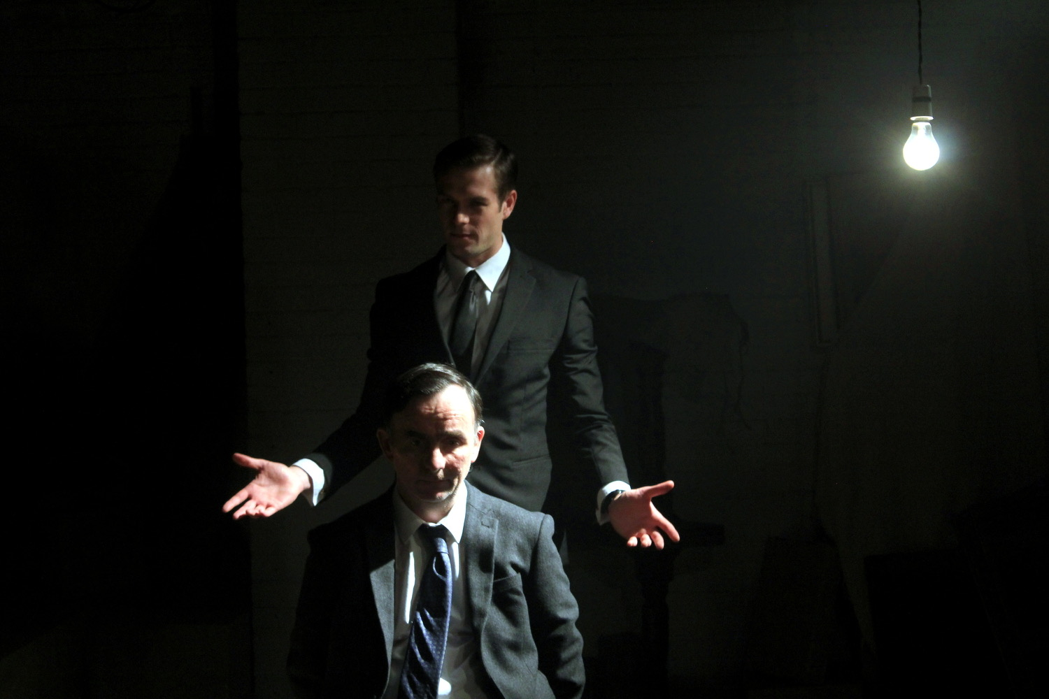 As  David Litvinoff in  The Rise of the Krays (Torn Pictures) directed by Zackary Adler