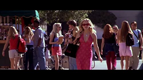 Elle Woods (Reese Witherspoon), a fashionable sorority queen is dumped by her boyfriend. She decides to follow him to law school, while she is there, she figures out that there is more to her than just looks.