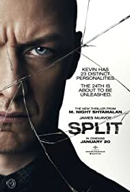 James McAvoy in Split (2016)
