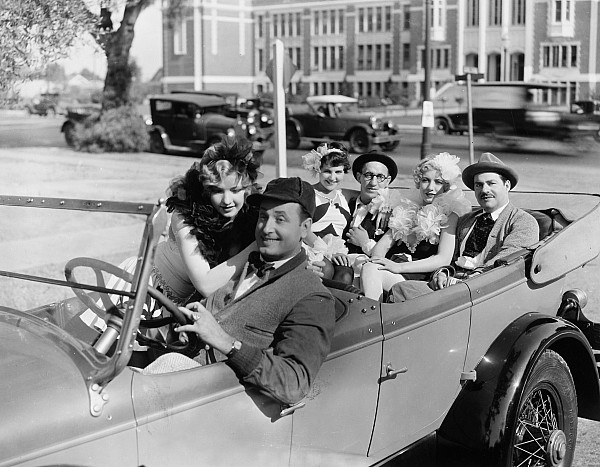 Sue Carol, Walter Catlett, Dixie Lee, and Jed Prouty in Why Leave Home? (1929)
