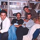 Thodoris Atheridis, Stelios Mainas, Ieroklis Michaelidis, and Akis Sakellariou in Eimaste ston aera (1997)