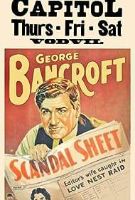 George Bancroft in Scandal Sheet (1931)