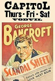 Scandal Sheet Poster