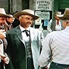 Ronald Reagan, Gregg Barton, and Tristram Coffin in Law and Order (1953)