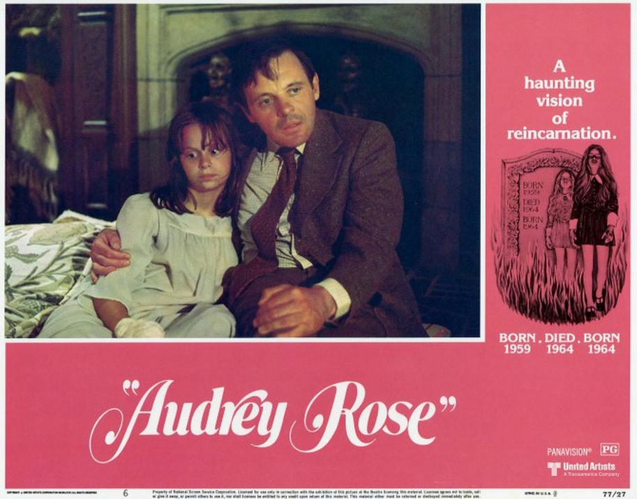Anthony Hopkins and Susan Swift in Audrey Rose (1977)
