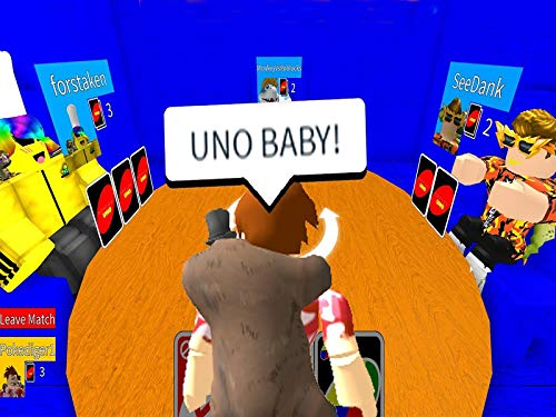 Clip Playing Uno Inside Of Roblox