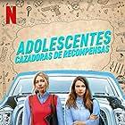 Maddie Phillips and Anjelica Bette Fellini in Teenage Bounty Hunters (2020)