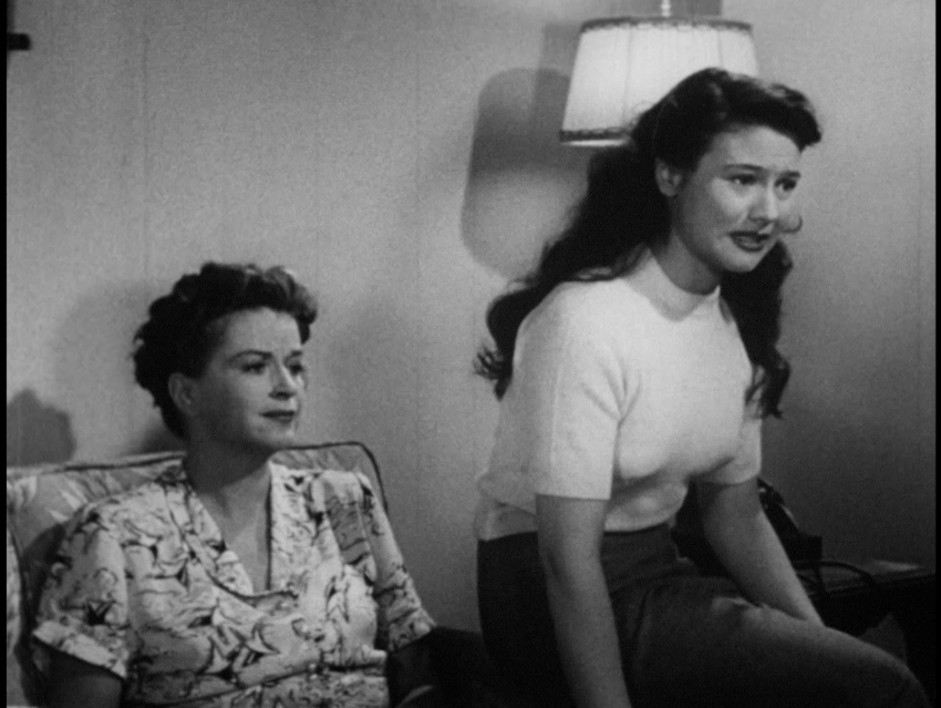 Rosemary DeCamp and Barbara Logan in The Life of Riley (1948)